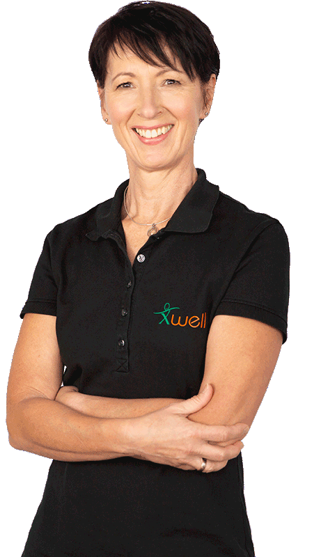 X-Well Personal Fitness Trainerin Anne-Kathrin Walek
