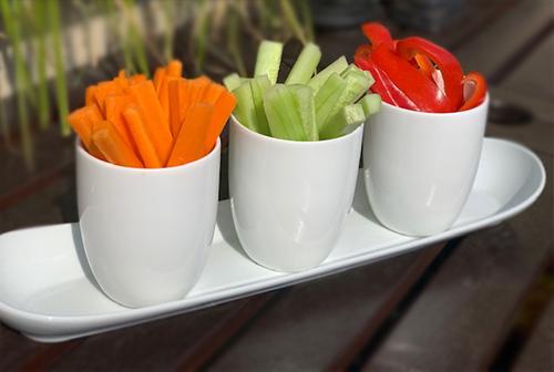 Tipps zum Abnehmen - Gemüsesticks